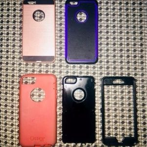 iPHONE CASES ❤︎ OTTERBOX + VARIOUS OTH LOT 7PLUS